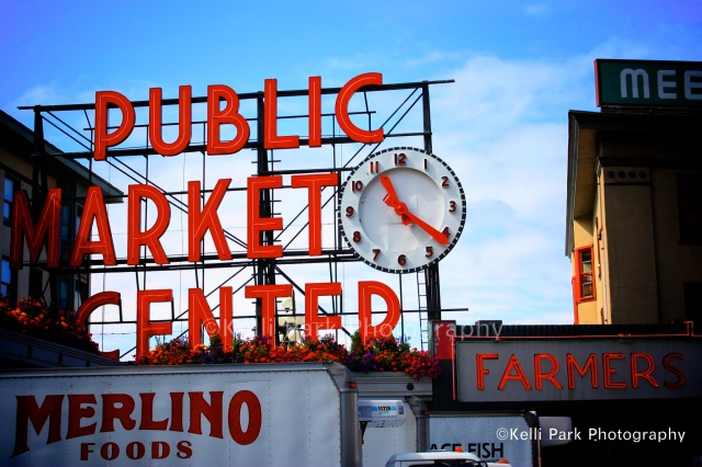 Seattle, Public Market, Seattle Market, Washington, Puget Sound, Pacific Ocean, Kelli Park Photography, West, West Coast, Farmer, FIshermen, Pacific Northwest